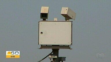 Começam a funcionar quatro radares instalados há 4 anos na BR-050, em Catalão - Motoristas que passam pela rodovia devem ficar atentos.