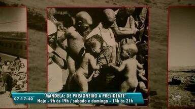 Último fim de semana para conferir a exposição Mandela: De prisioneiro à presidente - Saiba mais em g1.com.br/ce