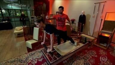 Aparelhos do pilates exercitam músculos, mente e espírito - O Bem Estar viaja no tempo e mostra como método foi criado.