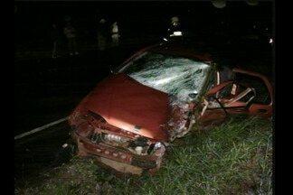Duas pessoas morrem em acidente na RSC-472 em Tenente Portela - Acidente foi na noite de quinta-feira (9).