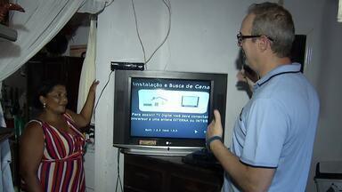 Caravana Digital orienta moradores da região sul sobre desligamento do sinal analógico - Caravana Digital orienta moradores da região sul sobre desligamento do sinal analógico