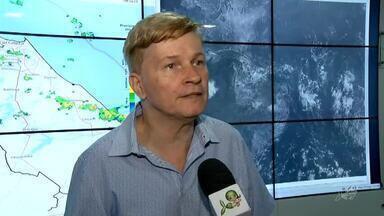 Chuvas de pós-estação não tendem a fazer grande efeito nos reservatórios - Saiba mais em g1.com.br/ce