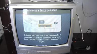 Instalação de conversor digital é simples - Saiba mais em g1.com.br/ce