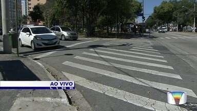 Blitz dos pedestres - Moradora reclama de problema em faixa de pedestres em frente a hospital na Vila Betânia.