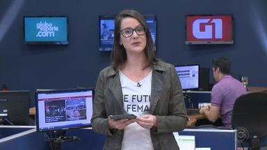 Compras do Dia dos Pais é destaque no G1 Bauru e Marília nesta sexta-feira - Mariana Bonora traz os principais destaques do G1 Bauru e Marília desta sexta-feira (10).