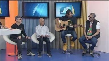 Grupo 14 Bis grava DVD acústico em Santos - Apresentação ocorre no Teatro Coliseu.
