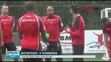 Botafogo-SP treina para enfrentar o Tombense-MG na Série C do Campeonato Brasileiro - Jogo acontece às 17h deste sábado (11).