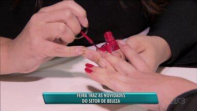 Feira traz novidades do setor de beleza - A feira ocorre neste fim de semana em Curitiba.