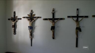 Crônica de sábado: Museu Dom Joaquim expõe obras de Arte Sacra em Brusque - Crônica de sábado: Museu Dom Joaquim expõe obras de Arte Sacra em Brusque