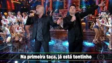 Rick e Renner empolgam com 'Nois Tropica Mais Não Cai' - Os convidados cantam e dançam junto com a dupla