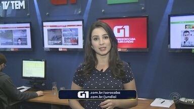 Mayara Corrêa traz os destaques do G1 Sorocaba e Jundiaí nesta terça-feira - A repórter Mayara Corrêa traz os destaques do G1 Sorocaba e Jundiaí nesta terça-feira (14).