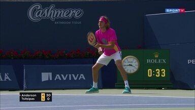 Masters 1000 - Toronto - Anderson x Tsitsipas - Semifinal