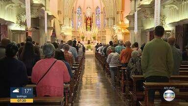 Assunção de Nossa Senhora é comemorada pela Igreja Católica nesta quarta-feira - Hoje também é dia de Nossa Senhora da Boa Viagem, padroeira de Belo Horizonte.