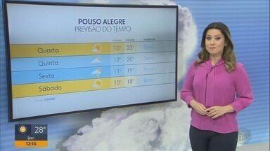 Confira a previsão do tempo para esta quarta-feira (15) no Sul de Minas - Confira a previsão do tempo para esta quarta-feira (15) no Sul de Minas