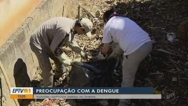 Mesmo com queda em número de casos, mutirão combate dengue em Varginha (MG) - Mesmo com queda em número de casos, mutirão combate dengue em Varginha (MG)