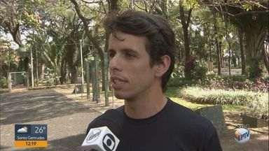 Educador físico de Araraquara explica sobre malefícios de baixa umidade do ar - Na terça-feira (14), a cidade registrou umidade relativa de 22%.