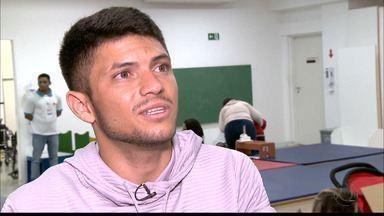 Campeão Paralímpico, Petrucio Ferreira, faz visita a AACD - Paraibano vai visitar sede da AACD em São Paulo