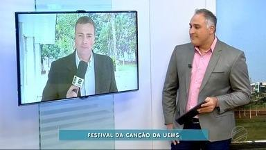 Fim de semana tem Festival da Canção da UEMS em Dourados - Vão se apresentar alunos e professores.