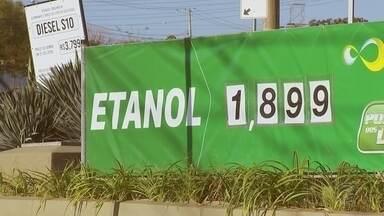 Decisões em usinas podem afetar o preço do litro do etanol - O valor do litro do etanol diminuiu na região noroeste paulista e um dos fatores que influenciam no preço do produto são as decisões tomadas dentro das usinas.