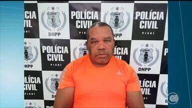 Acusado de matar irmão e cunhada é preso em Teresina - Acusado de matar irmão e cunhada é preso em Teresina