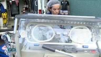 Morre bebê que nasceu após grávida ser baleada em Vitória - Morte do recém-nascido no hospital foi confirmada pela família. Enterro da mãe, de 23 anos, aconteceu nesta quarta-feira (15).