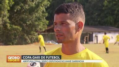 Vem aí a 2ª edição da Copa Gari - Competição começa no domingo (19). Abertura e final serão disputadas no Mané Garrincha.
