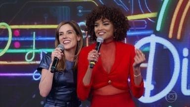 Rafaela Mandelli e Lucy Ramos abrem o 'Ding Dong' pontuando - Elas acertam a música da campainha 1