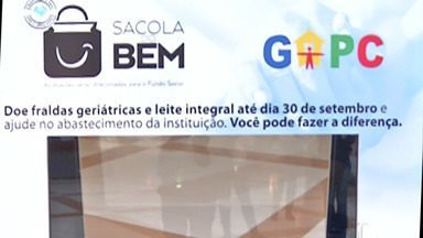 Campanha ajuda pacientes com câncer - Fralda e outros itens podem ser doados no shopping de Mogi das Cruzes.