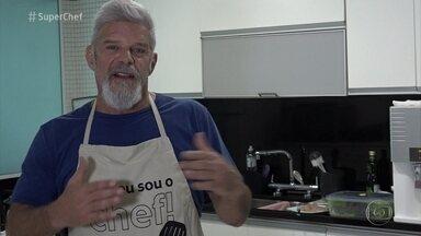 'Super Chef Celebridades': Raul Gazolla quer aprender técnicas para incrementar o que sabe - Ator diz que não come carne vermelha