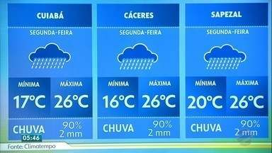 Chuva chega a várias regiões do estado - Chuva chega a várias regiões do estado