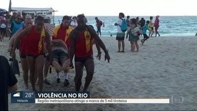 Rio chega a marca de cinco mil tiroteios em seis meses - Balanço foi feito desde o início da intervenção federal na segurança da cidade