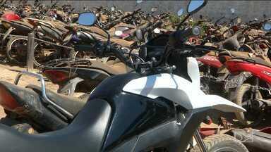 Seis motocicletas roubadas são recuperadas pela polícia em Balsas - Motocicletas roubadas foram recuperadas neste final de semana e também foi preso um suspeito de assaltar um posto de combustível.