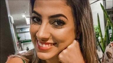 Enterrado o corpo da jovem assassinada a tiros no Espírito Santo - Thaís Oliveira Rodrigues tinha 22 anos. Ela e a família tinha ido buscar um bolo de aniversário quando o carro em que estavam foi alvejado por traficantes na noite de sábado (18).