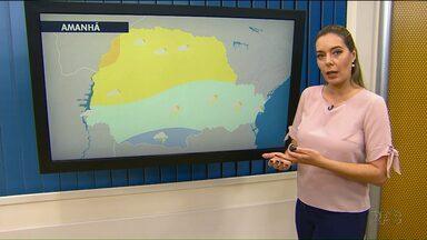 Tarde de segunda-feira (20) será de calor em toda a região dos Campos Gerais - Mas um frente fria está chegando.