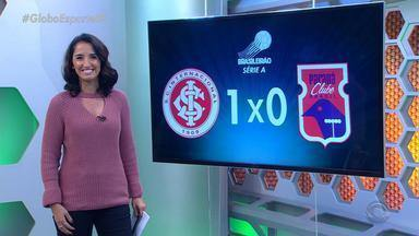 Globo Esporte RS - Bloco 1 - 20/08/2018 - Assista ao vídeo.