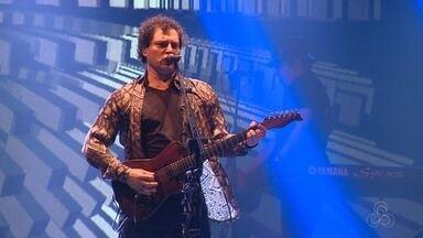 Frejat apresenta turnê 'Tudo se transforma' durante show em Manaus - Evento teve ainda Humberto Gessinger e clássicos do rock internacional interpretados por artistas amazonenses.