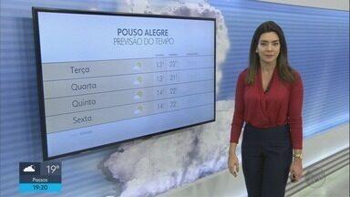 Confira a previsão do tempo para esta terça-feira (21) no Sul de Minas - Confira a previsão do tempo para esta terça-feira (21) no Sul de Minas