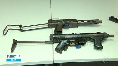 Homens são presos com metralhadoras e drogas no Recife - Os dois são acusados de tráfico na Zona Sul da cidade.