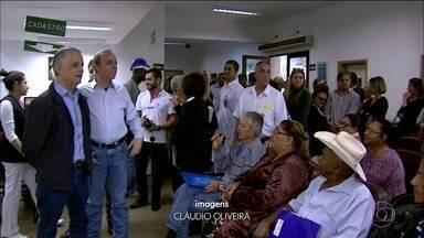 O candidato Márcio França, do PSB ao governo do Estado, foi a Barretos, no interior - O primeiro compromisso do candidato foi no Hospital do Amor, novo nome do Hospital de Câncer de Barretos.