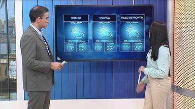Meteorologia prevê tempo seco e predomínio de sol no Sul do Rio - Não há previsão de chuva pra região.