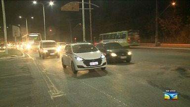 Veja informações do trânsito esta noite em São Luís - Ao vivo, o repórter Werton Araújo deu as informações.