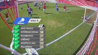Dupla Gre-Nal encerra o primeiro turno do Brasileirão no G-4 - Assista ao vídeo.