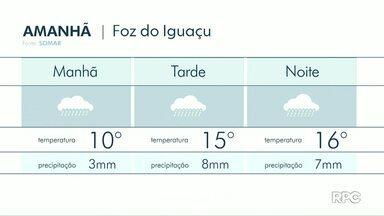 Terça feira será de muita chuva na região - Veja a previsão no mapa.