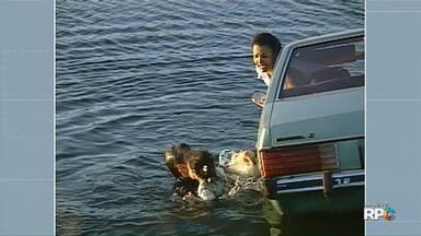 Boa noite Paraná estreia lembrando resgate feito por repórter Sandro Ivanowski - Telespectador disse que essa foi a reportagem que mais o emocionou