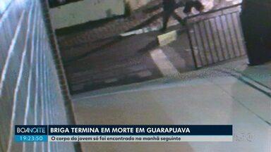 Briga termina com uma pessoa morta em Guarapuava - Imagens exclusivas mostram momentos de disparos