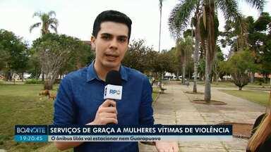 Ônibus Lilás oferece serviços de graça para mulheres vítimas de violência em Guarapuava - O ônibus vai estar nesta terça-feira na cidade.