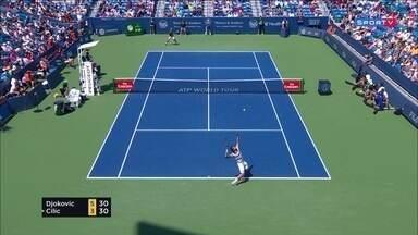 Masters 1000 - Cincinnati - Djokovic x Cilic - Semifinal