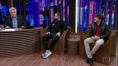 Bial e convidados debatem sobre vício em games - Gabriel e Rafael falam sobre suas experiências