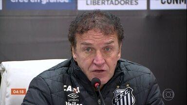 Independiente empata em 0 a 0 com o Santos - Um bom resultado para a equipe do técnico Cuca.