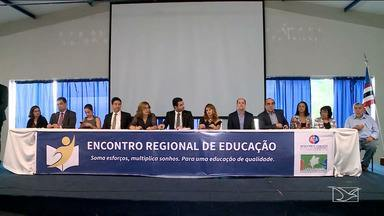 Imperatriz sedia Encontro Regional de Educação - Objetivo do evento foi debater e propor estratégias de melhoria na qualidade da educação no estado.